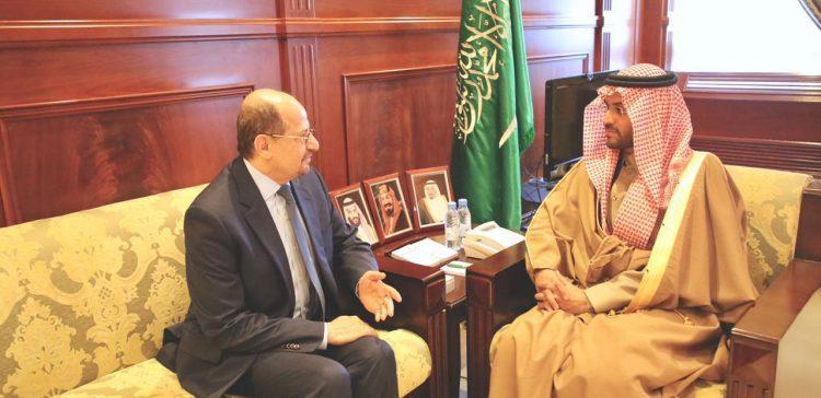 Ambassador Azendani meets with Dep. Amir of Hael region