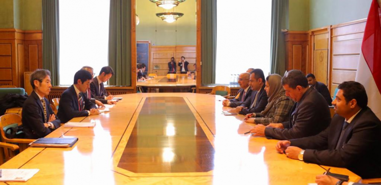 Prime Minister meats with Dep. Minister of Japanese Parliamentarian Affairs
