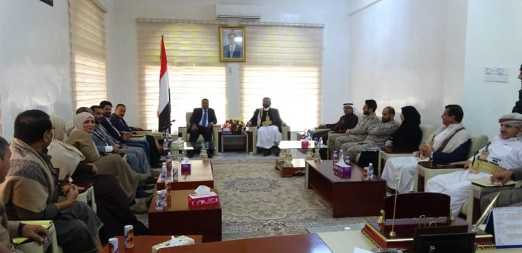 Marib Governor, Transport Minister discuss transportation development
