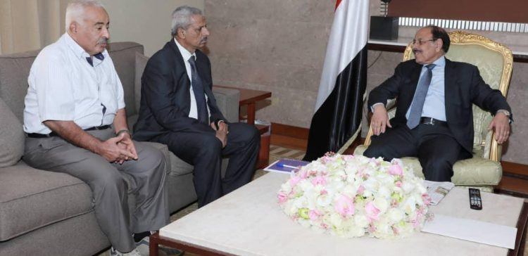 Vice President meets Lahj governor