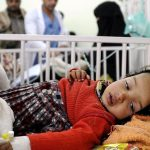 WHO: 166 deaths, 97000 infected cases of cholera in areas run by Houthi militia