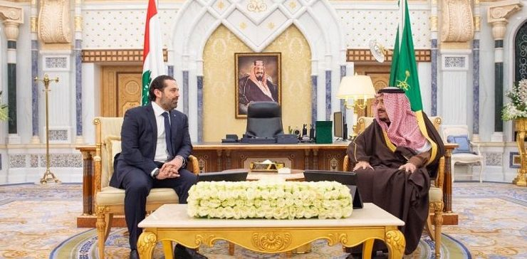 Saudi King receives Lebanese Prime Minister