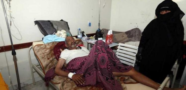 Houthi militias create a suitable environment for the spread of Cholera