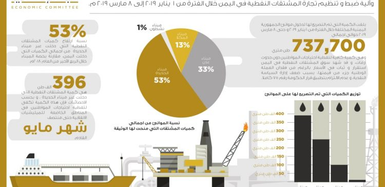 Houthi militias induce oil products crisis, says Economic Committee
