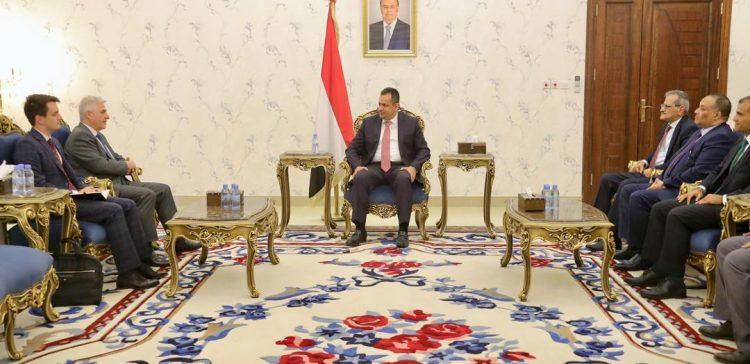 PM, Russian Ambassador discuss Yemen developments