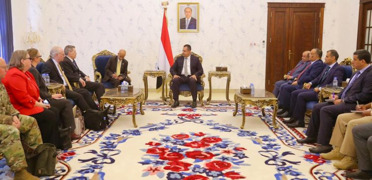 PM, U.S. Ambassador discuss peace efforts in Aden