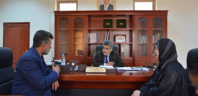 Basoheib discuses international organizations' projects