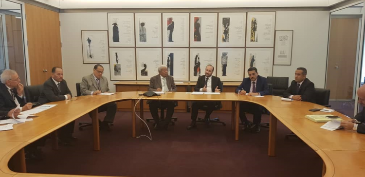 Al-Awj, AFESD discuss resuming stalled projects