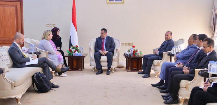 PM, EU's delegation discuss developments in Yemen