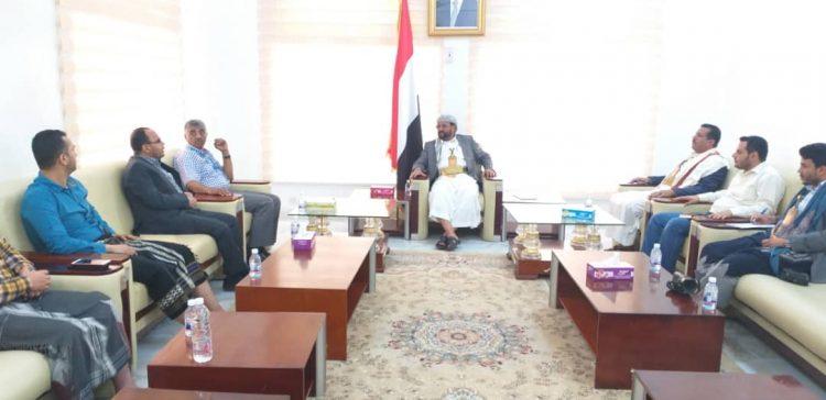 Marib Governor discusses UNICEF's interventions in Marib