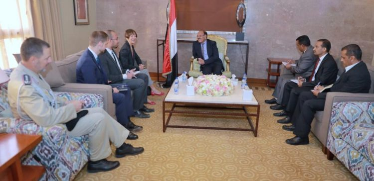 VP meets with German ambassador to Yemen