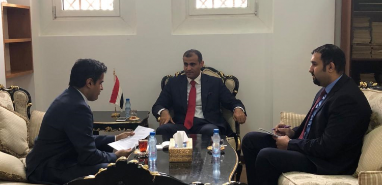 Deputy FM meets US Charge d'Affaires