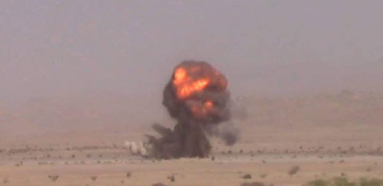 0ver 5000 Houthi-laid mines destroyed Al-Jawf