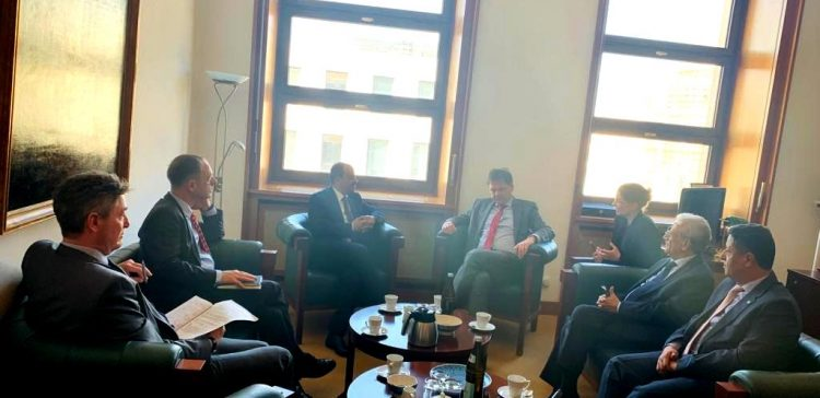Info Minister, German official discuss boosting peace in Yemen