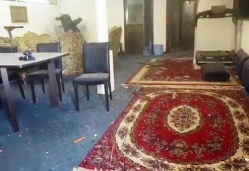 Houthi militia shells the hall of Redeployment Committee in Hodeida