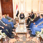President receives Parliament Speaker