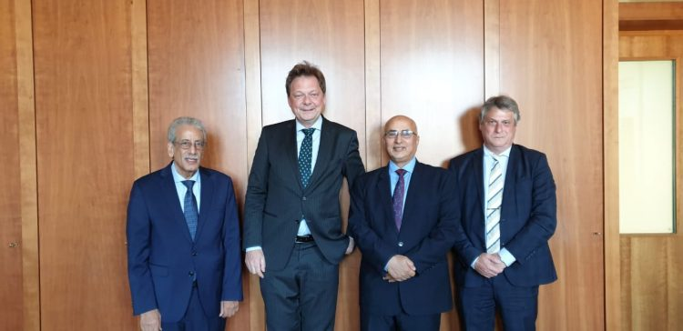 Fatah, German official discuss support relief aid in Yemen