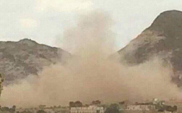 Houthi militia shells civilian houses in Al-Dhale