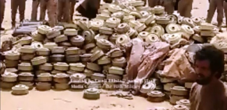 Experts dismantle more than 6000 Houthi-laid landmines west of Taiz