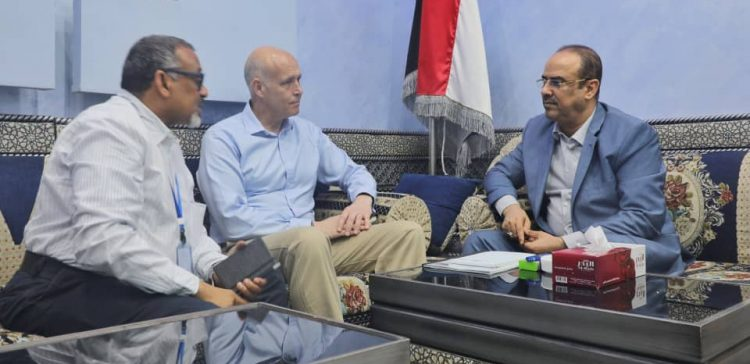 Interior Minister values UNDP's efforts in Yemen