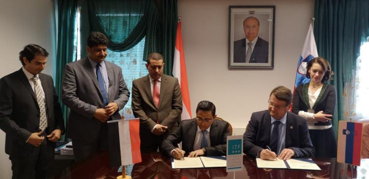 Yemen signs memo with Slovenian organization