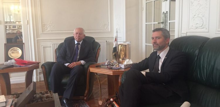 Ambassador Yaseen meets French MP