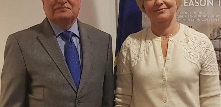 Yemen's Ambassador meets with Director of Directorate-General for EU (ECHO)