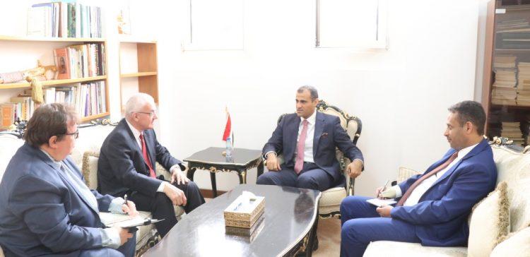 Dep. FM discusses bilateral relation with Czech Ambassador