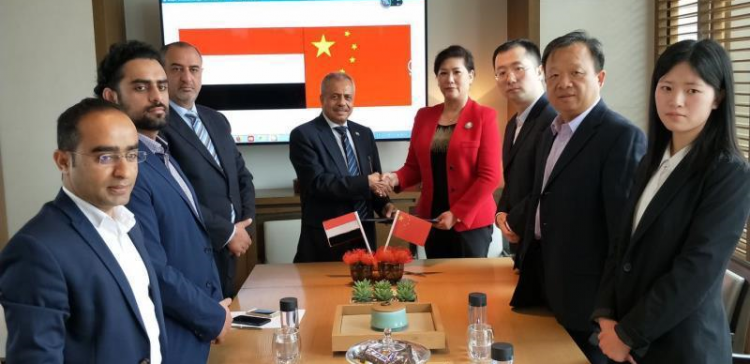 Industry minister, Chinese company discuss support for Yemeni hospitals