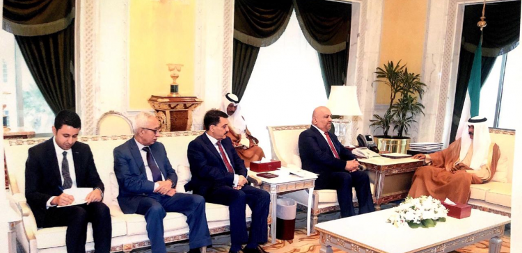 Foreign Minister meets with Kuwaiti Crown Prince