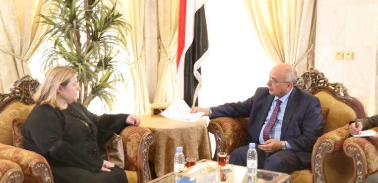 Fatah, European Union official discuss development project
