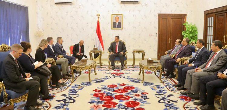 Prime Minister receives U.S. Ambassador to Yemen