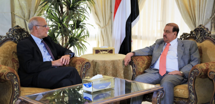 Speaker of Parliament meets with UK Ambassador to Yemen