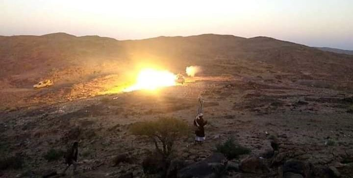 Houthi militia shells mosque and populated areas in Al-Baydha