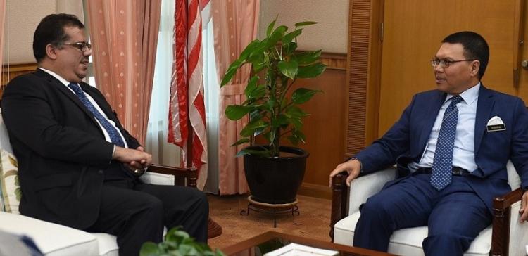 Yemen's Ambassador to Kuala Lumpur meets Secretary General of Malaysian Foreign Ministry