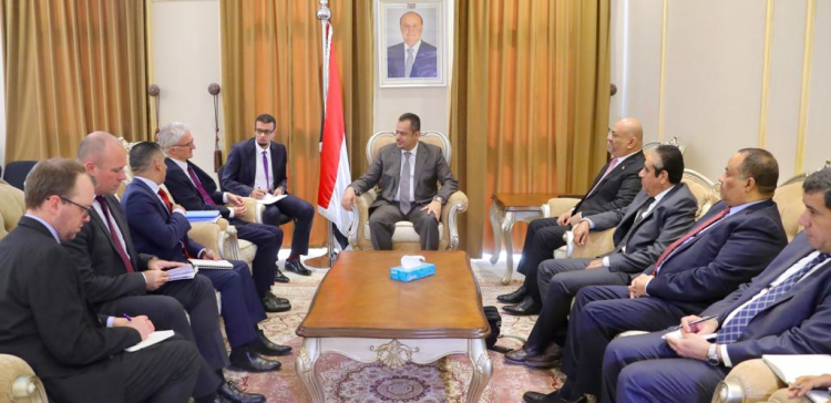 Prime Minister receives British Ambassador to Yemen