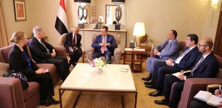 PM receives US Ambassador to Yemen