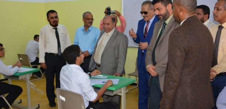Deputy Premier launches Secondary School Final Exams in Aden