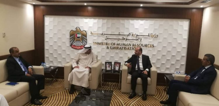 Yemen, UAE discuss cooperation in capacity building, manpower