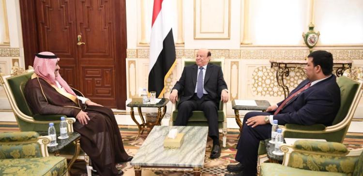 President receives Saudi Ambassador to Yemen