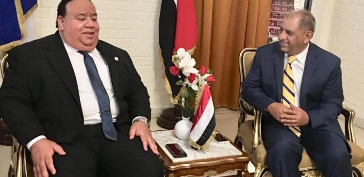 Ambassador Nasher reviews Yemen's situations in Havana