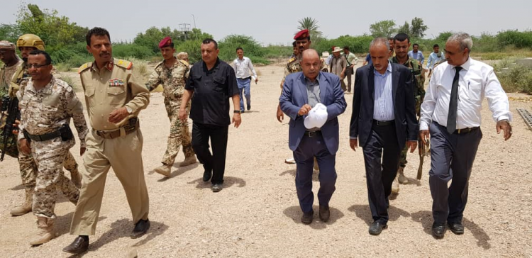 Government team inspects floods damages in Abyan