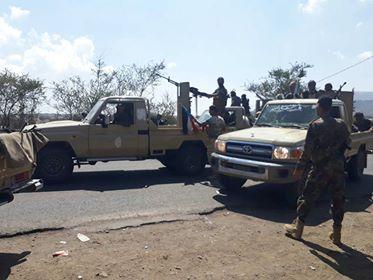 Houthi militia blasts crossing bridge in Al-Dhale