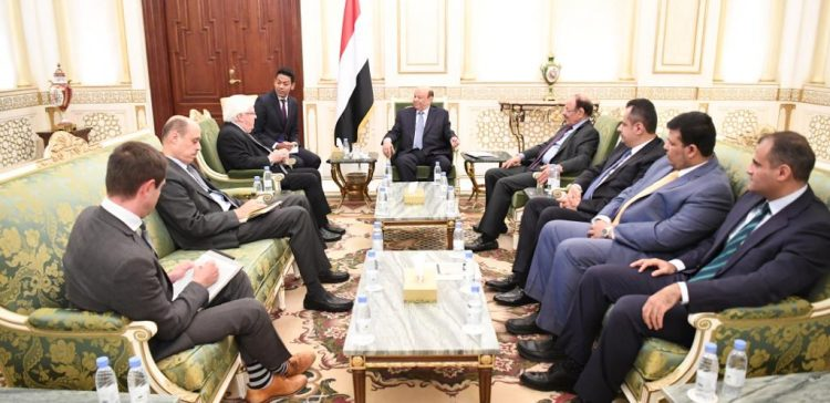Hadi says it must be agreed that Stockholm Agreement is key to next arrangements