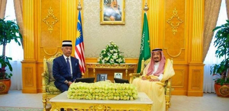 King Salman Receives King of Malaysia