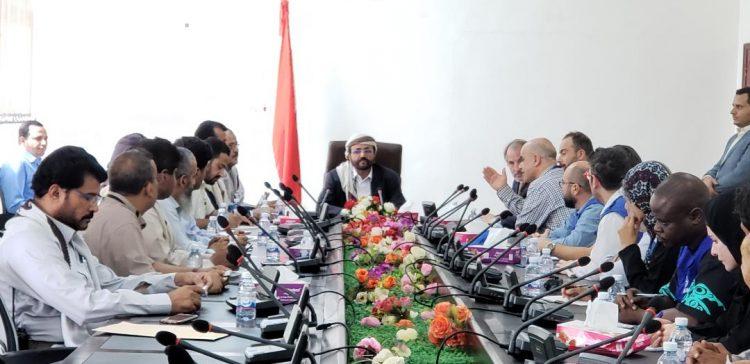 Marib governor, IOM discuss partnership