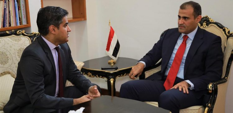 Dep. FM meets US Charge d'Affaires to Yemen