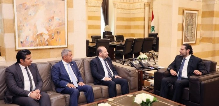 Lebanese PM receives Yemen's Minister of Planning and International Cooperation