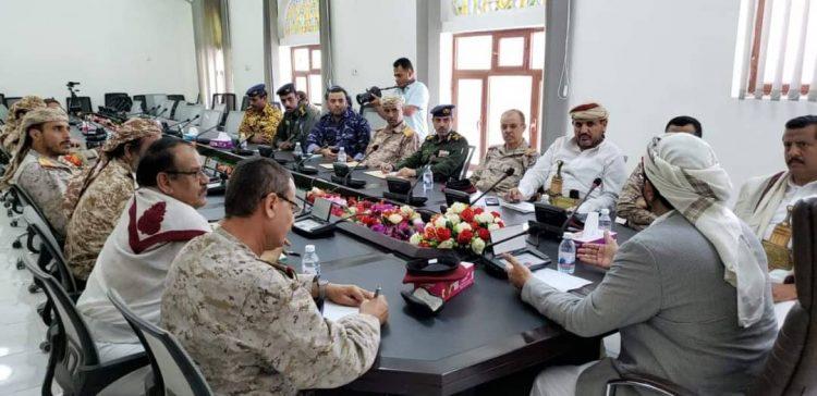 Marib Security Committee discusses improving performance