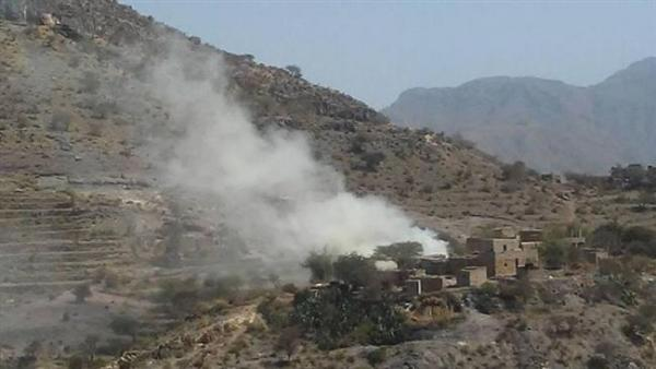 Houthi militia shells residential areas in Al-Dhale